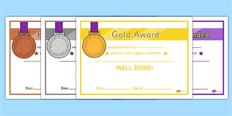 bronze certificate template general medals award certificates gold silver and bronze