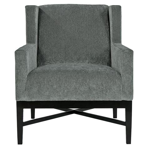 dark grey armchair hopper modern classic mocha wood dark grey armchair