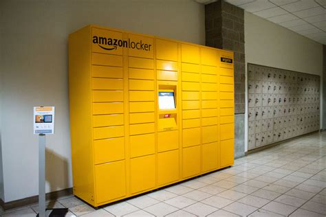 amazon locker amazon lockers now available for student faculty and