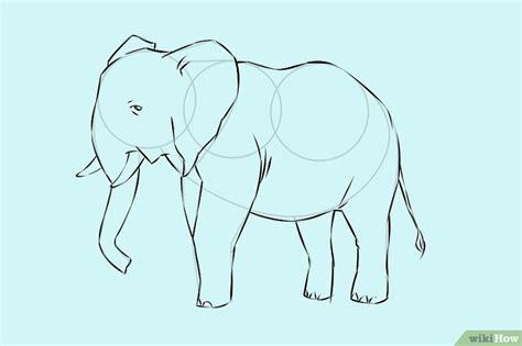how to draw a doodle elephant een olifant tekenen wikihow