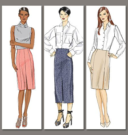 pattern review vogue 1415 vogue patterns 8773 misses skirt