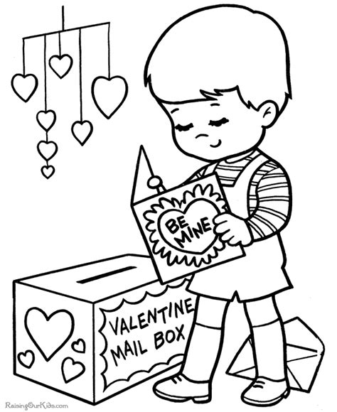 free coloring pages valentines day cards free valentine day coloring page 018