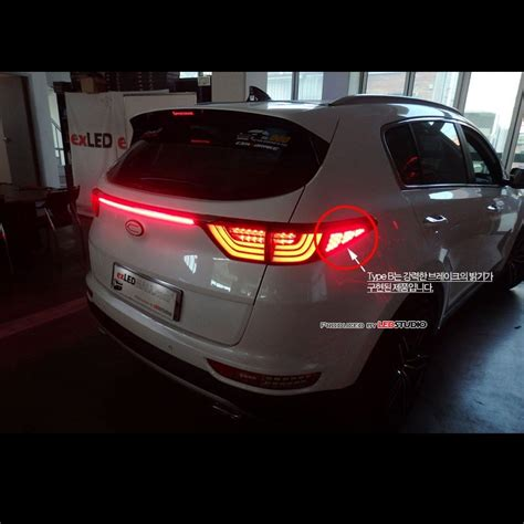 2017 kia forte tail lights led tail lights rear l module diy kits b type for kia