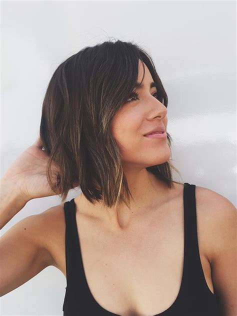 3 hairstyles to show off this season s statement earrings chloe bennet shows off her new look for agents of s h i e