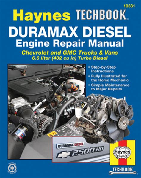 duramax 6 6 diesel engine repair shop manual chevrolet silverado gmc 2001 12 ebay
