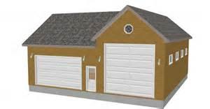 24 x 32 garage plans free