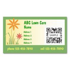 Free Printable Lawn Care Business Cards