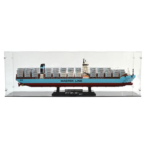 Lego Exclusive Maersk Line E 10241 display for lego 10241 maersk line e display cases for collectibles