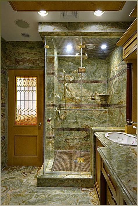 custom steam shower design custom steam shower with onyx slabs and glass tile accents