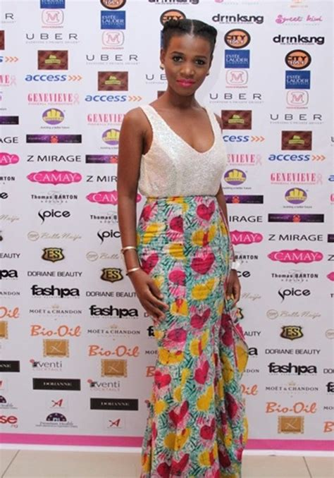Cd Mr Barth My Blues Suits Obi osas ighodaro and seyi shay make fashion statements at genevieve magazine pink photos