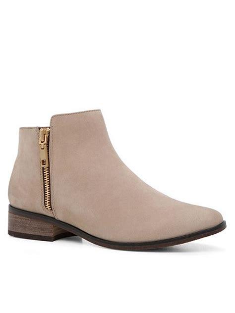 aldo julianna flat ankle boots beige house of fraser
