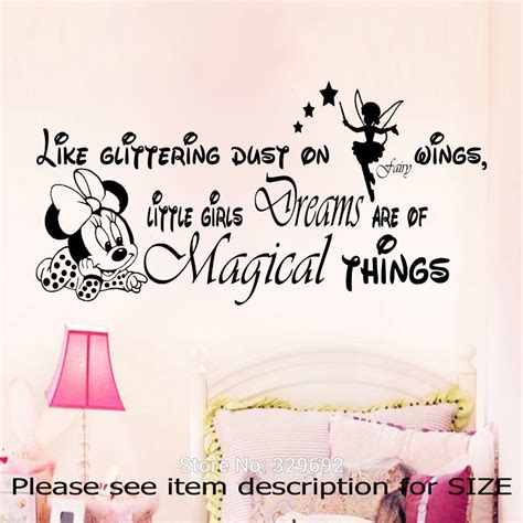Disney Castle Wall Sticker minnie mouse quotes quotesgram