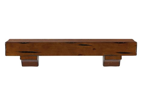 50 Inch Wall Shelf by Pearl Mantels 412 48 50 Shenandoah Pine 48 Inch Wall Shelf