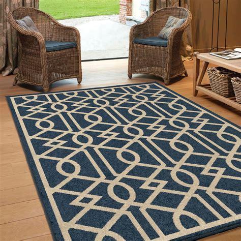 large indoor outdoor area rugs orian rugs indoor outdoor trellis barcelona blue area