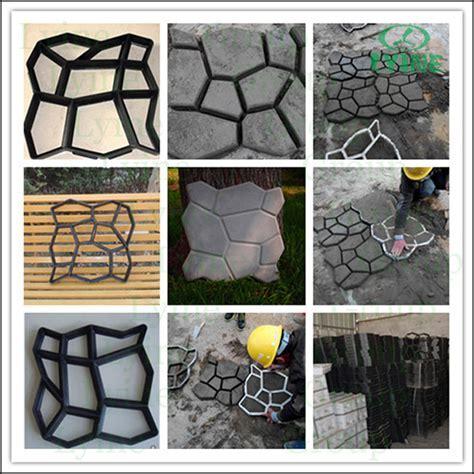 Diy Cobblestone Paving Moulds Concrete Cement Plaster