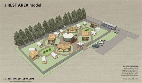 tiny house village design concept building a cluster community of tiny houses on shared property timber trails