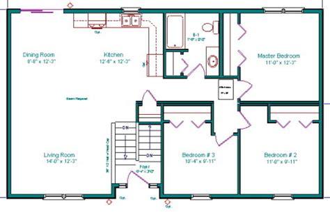 Bi Level Floor Plans split entry addition