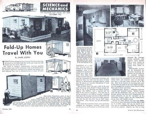 Fold Up Home Fold Up Homes Of The 1950 S