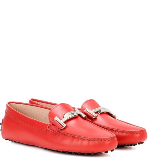 gommini loafers tod s gommini t suede loafers in lyst