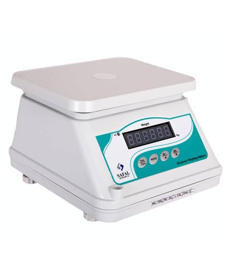 Weighing Scale by Safal Weighing Scale White Digital Weighing Scales Buy