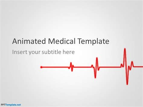 templates ppt health free animated medical ppt template