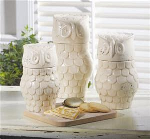 owl canisters for the kitchen 17 best images about owl on pinterest ceramics cookie