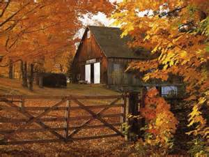 fall barn autumnal fall pinterest