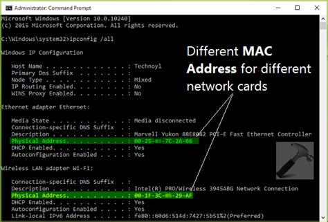 View Address Finder How To Find Or View Mac Address In Windows 10