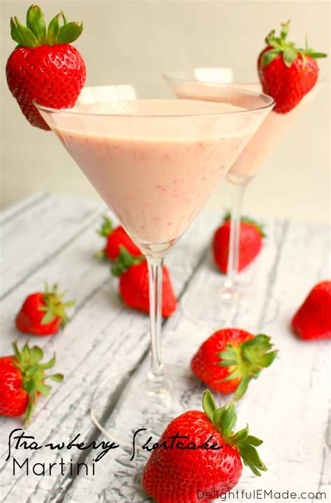martini strawberry strawberry shortcake martini delightful e made
