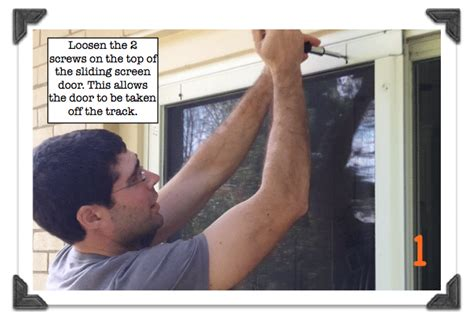 How To Remove A Sliding Screen Door by Home Repair Tutor