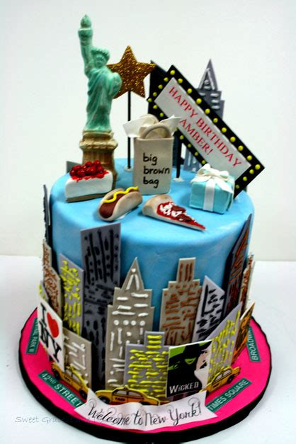 custom cakes in new york city