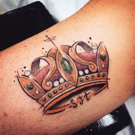 crown tattoo designs for men 100 crown tattoos for kingly design ideas