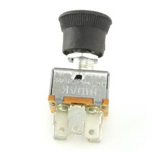 3 speed heater fan switch with rubber knob car builder