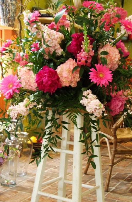 peony flower arrangement pink red peony flowers for wedding ceremony flowers and