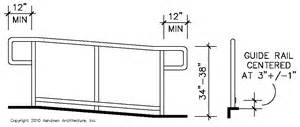 handrail height ada ada stair handrail requirements quotes