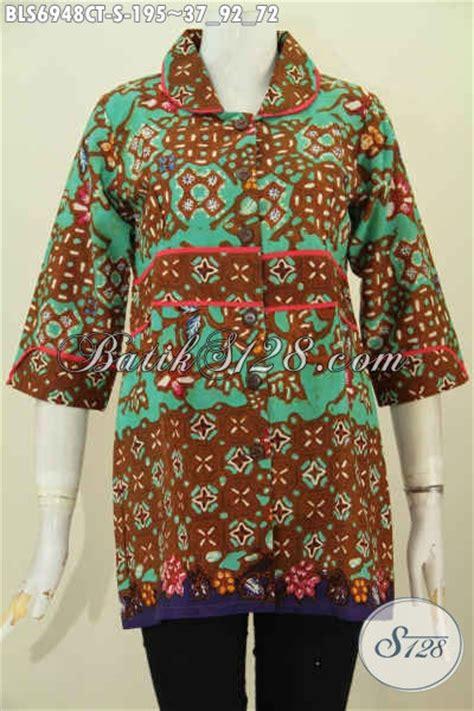 Baju Kerja Wanita Grosir Grosir Baju Batik Kerja Wanita Pakaian Batik Model