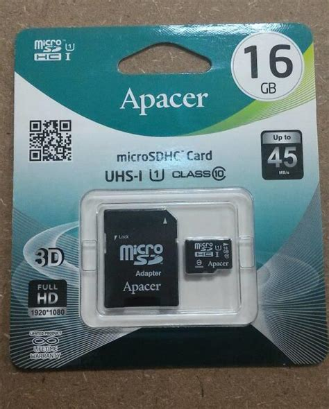 Memory Card Apacer 8gb apacer micro sd 8gb 16gb 32gb class end 7 24 2018 3 13 pm