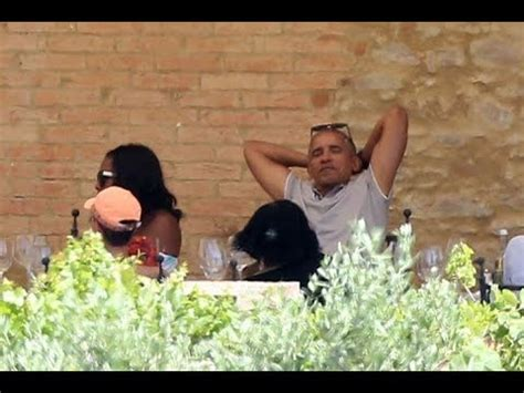 Obama Disturb what obama was just spotted doing in italy will disturb