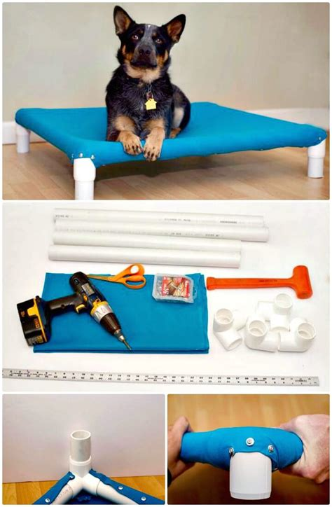 make your own dog bed 9 diy dog bed ideas using pvc pipe diy crafts