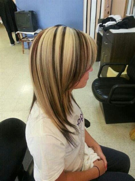 blonde hair with low blonde hair with black low lights hair color pinterest