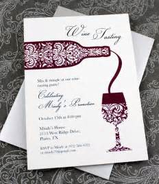 Wine Tasting Template by Wine Tasting Invitation Template Print