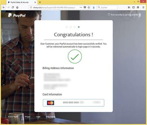 kreditkarte paypal entfernen ihre kreditkarte und bankkonto wurde aus ihrem paypal