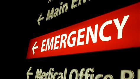 Emergency Room Signage by Is Underfunding Really The Problem Ontario S