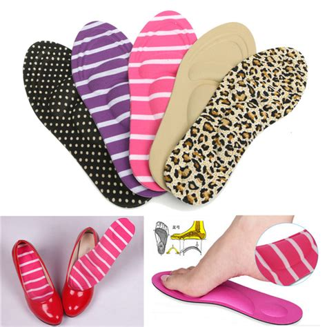 high heel cushions sponge insoles care arch shoe inserts shoes