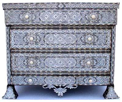 Inlay Furniture by Syrian Of Pearl Inlay Furniture