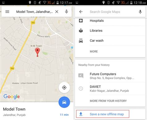 full google maps offline how to download google maps offline in android