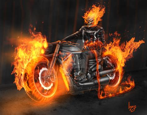 rider fan bike marvel ghost rider fan by legacy666legacy on deviantart