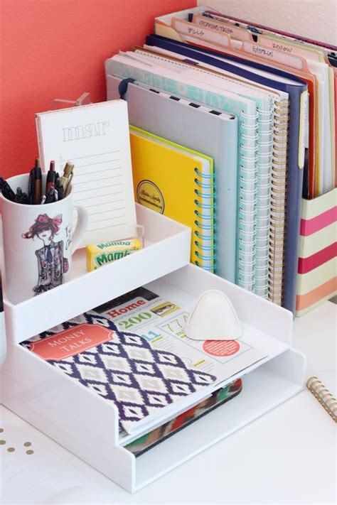 Desk Paper Organizers 4 Desk Organization Ideas And 25 Exles Shelterness