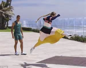 gigi hadid meets olympian ashton eaton vogue gigi hadid indulges at in n out with rupaul in spoof