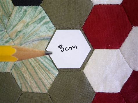 1000 cut 3cm hexagon patchwork paper templates each side